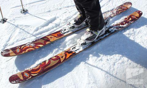 Skilogik Yeti Ski Review - Backcountry Skiing Canada