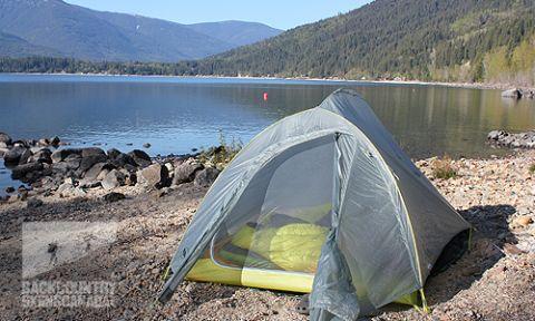 Big Agnes Fly Creek 2 Platinum Tent & Big Agnes Fly Creek 2 Platinum Tent - REVIEW