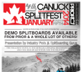 Canuck Splitfest 4 - January 4-5, 2014