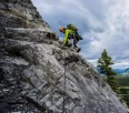 New 7 pitch 5.7 route established in the Bow Valley