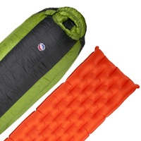 Big Agnes Mystic SL Sleeping Bag And Q Core Pad