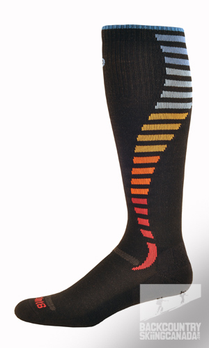Point 6 Compression Ultra Light Wave Socks