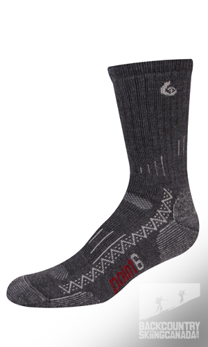 Point 6 Trekking Tech Heavy Cushion Crew Socks