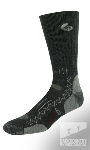 Point 6 Hiking Tech Medium Crew Socks
