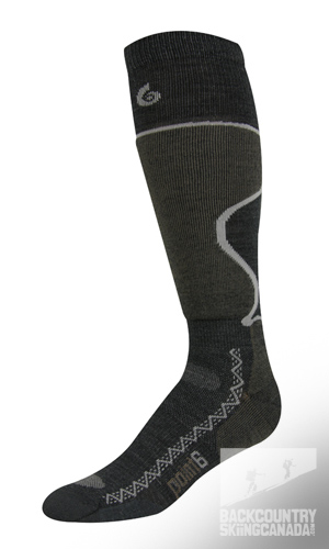 Point 6 Ski Pro Light Cushion Sock
