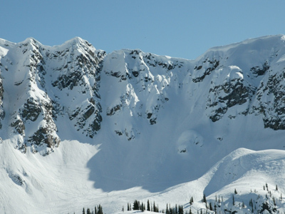Revelstoke Mountain Resort Door Chutes