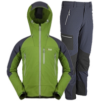 Rab scimitar jacket and pants