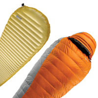 Thermarest Antares Down Sleeping Bag and NeoAir XLite Mattress