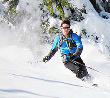 backcountry skiing canada photos