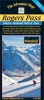Rogers Pass and Glacier National Park Backcountry skiing map