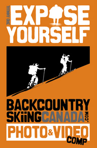 backcountry skiing canada 2012 expose yourself photo and video competition