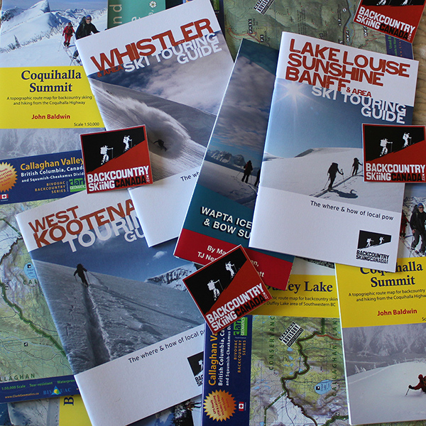 backcountry skiing guide books