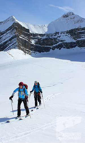 Backcountry Skiing Canada, Backcountry, Peyto Hut, Bow Hut, Balfour Hut, Scott Duncan Hut, Gear Reviews, Mt. Olive, Mt. Balfour