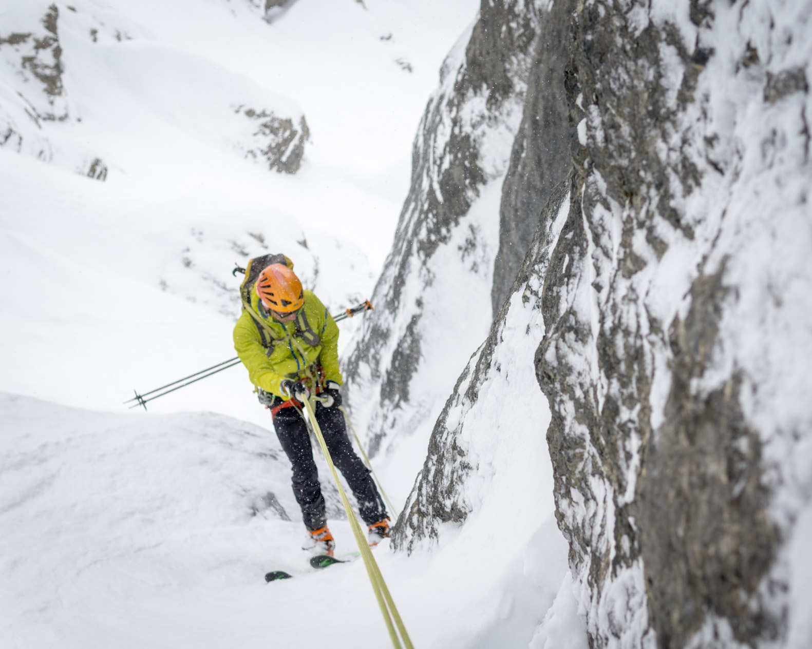 Trip Report - Burgess NW Couloir