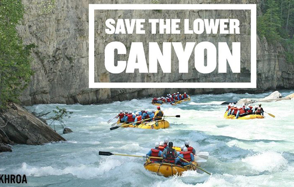 Help Save The Lower Canyon!